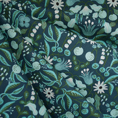 Amalfi Freja Linen Blend Turquoise SY - Sold Out - Style Maker Fabrics