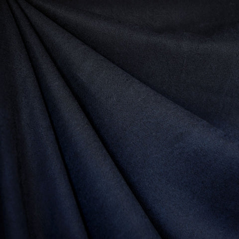 Soft Tencel Twill Solid Navy