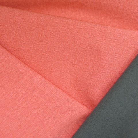 Soft Shell Coating Heather Coral/Grey