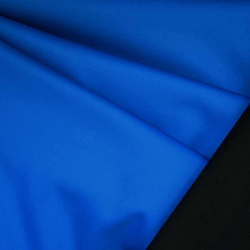 Soft Shell Fleece Coating Royal/Black - Fabric - Style Maker Fabrics