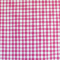 Mini Carolina Gingham Shirting Fuchsia/White - Fabric - Style Maker Fabrics