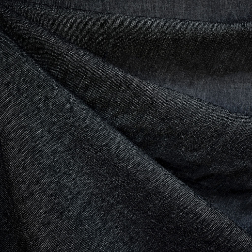 Light Weight Denim Shirting Black SY - Sold Out - Style Maker Fabrics