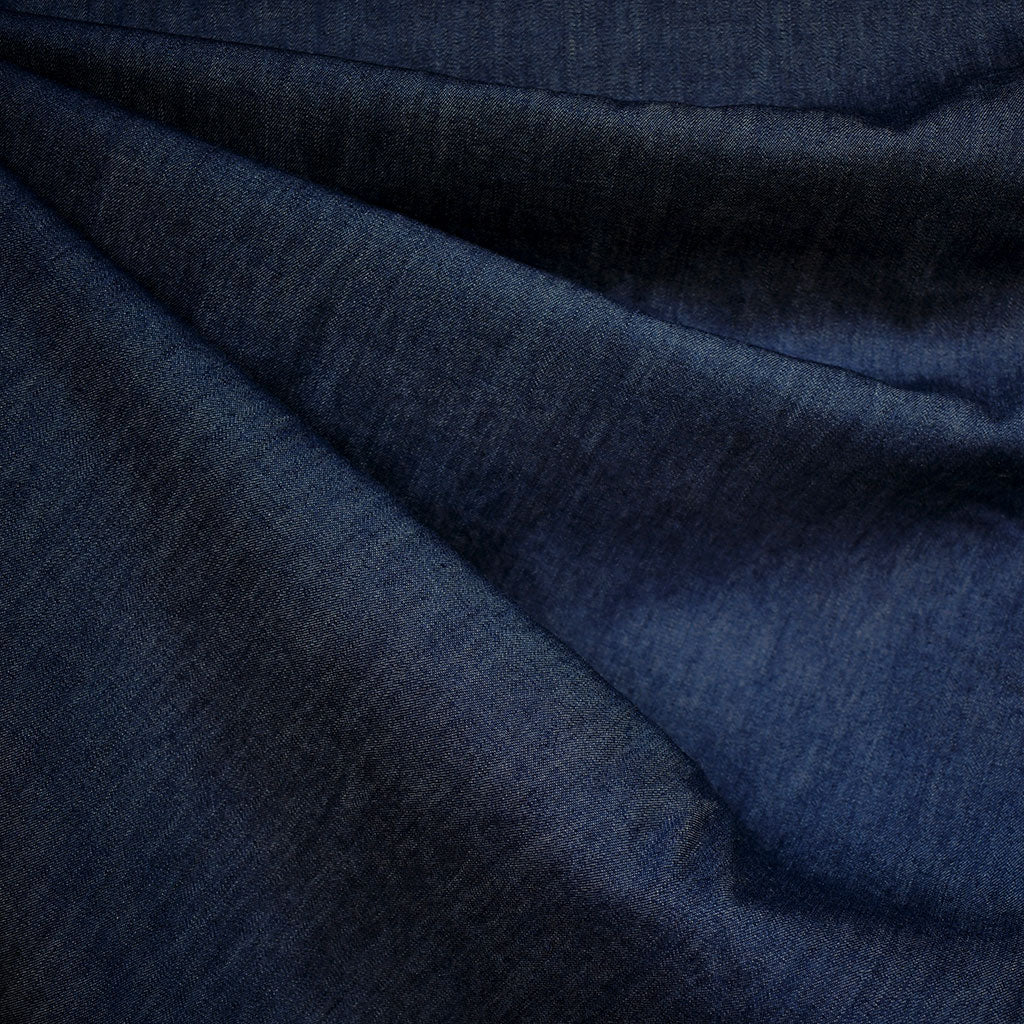 Light Weight Denim Shirting Washed Indigo SY - Sold Out - Style Maker Fabrics