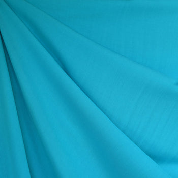 Rayon Batiste Solid Turquoise