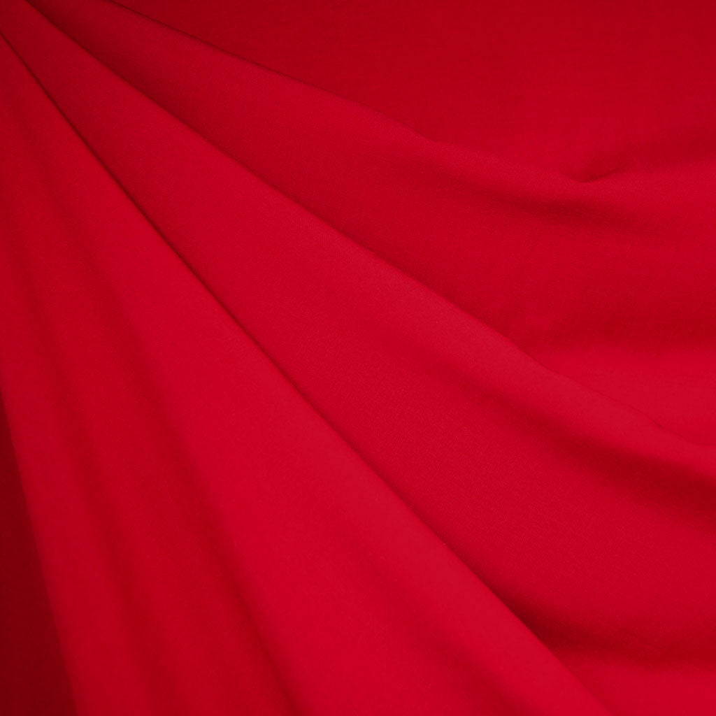 Rayon Batiste Solid Red - Fabric - Style Maker Fabrics