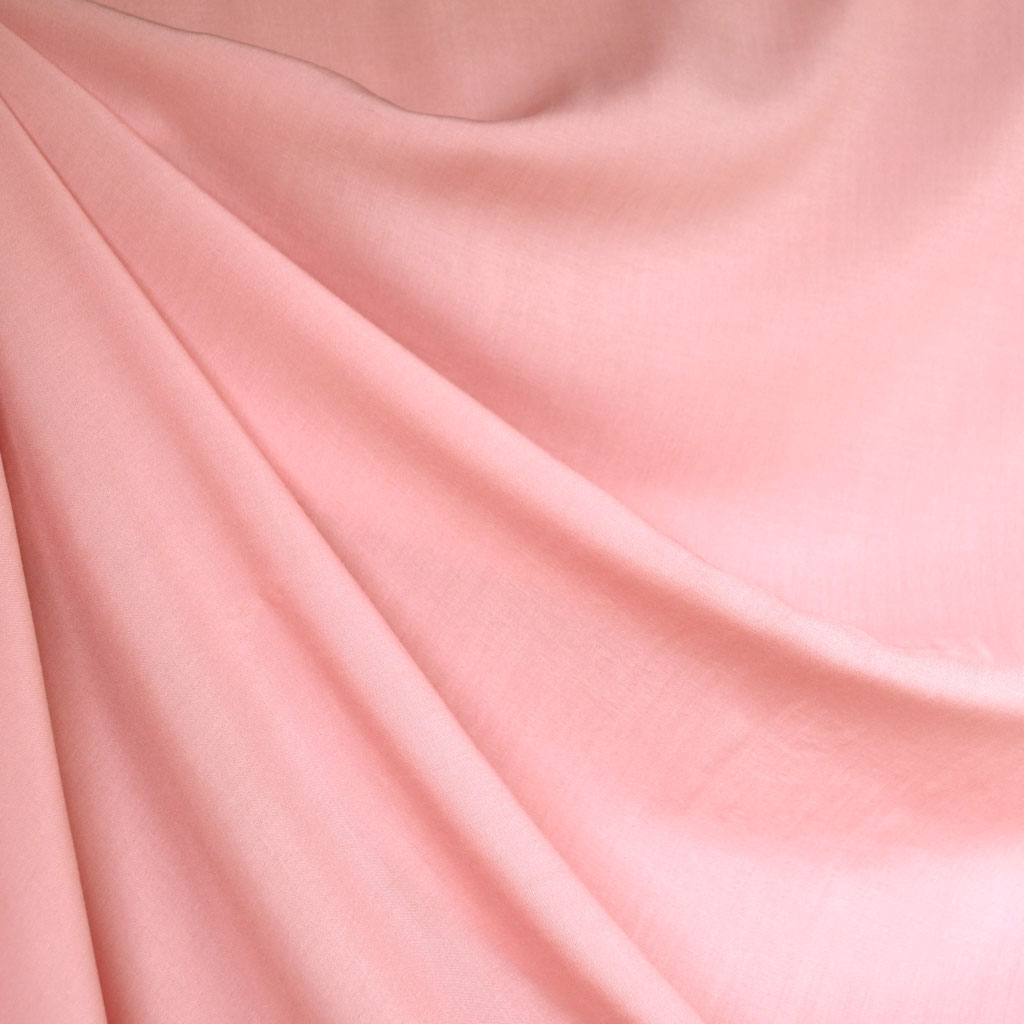 Rayon Batiste Solid Pink - Fabric - Style Maker Fabrics