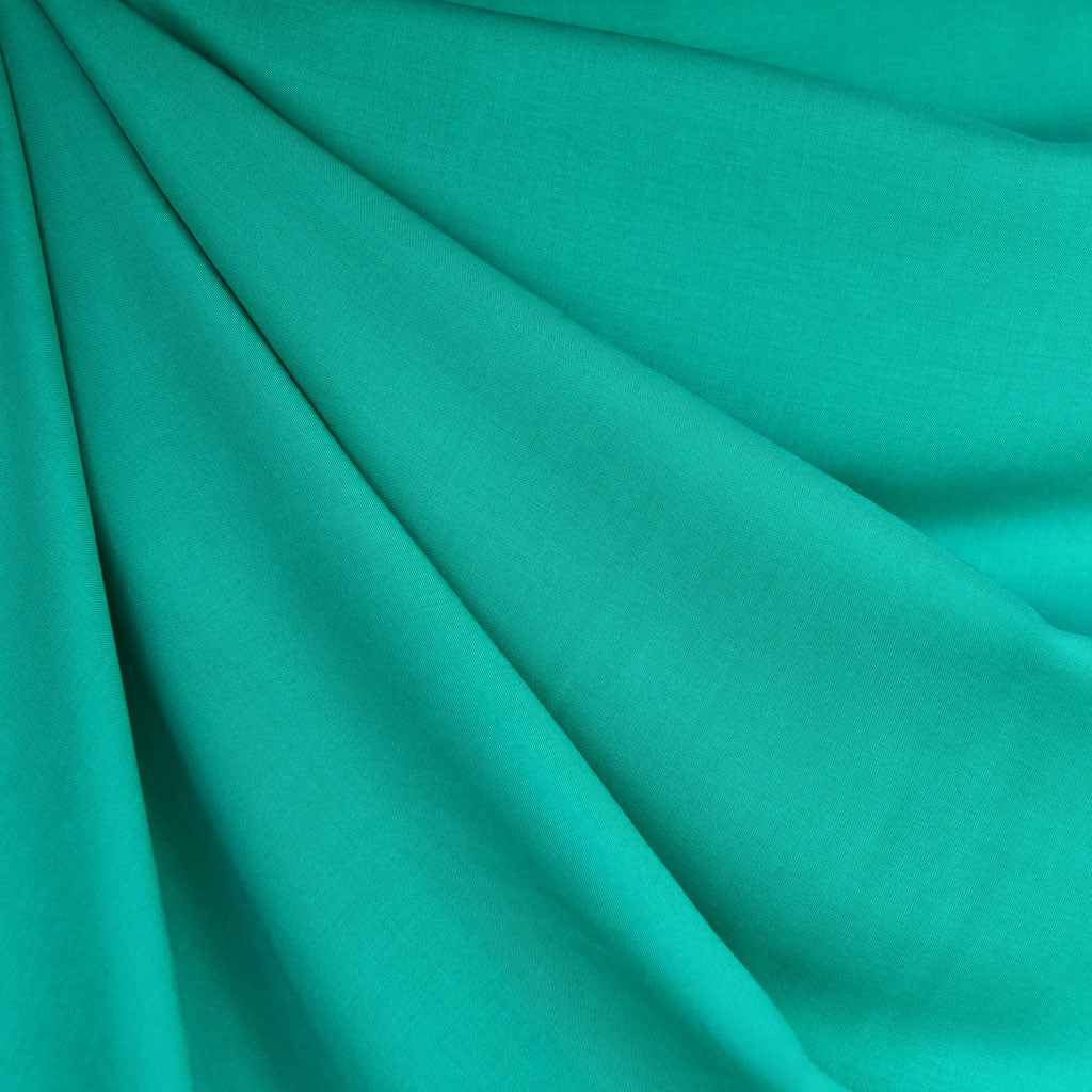 Rayon Batiste Solid Jade SY - Sold Out - Style Maker Fabrics
