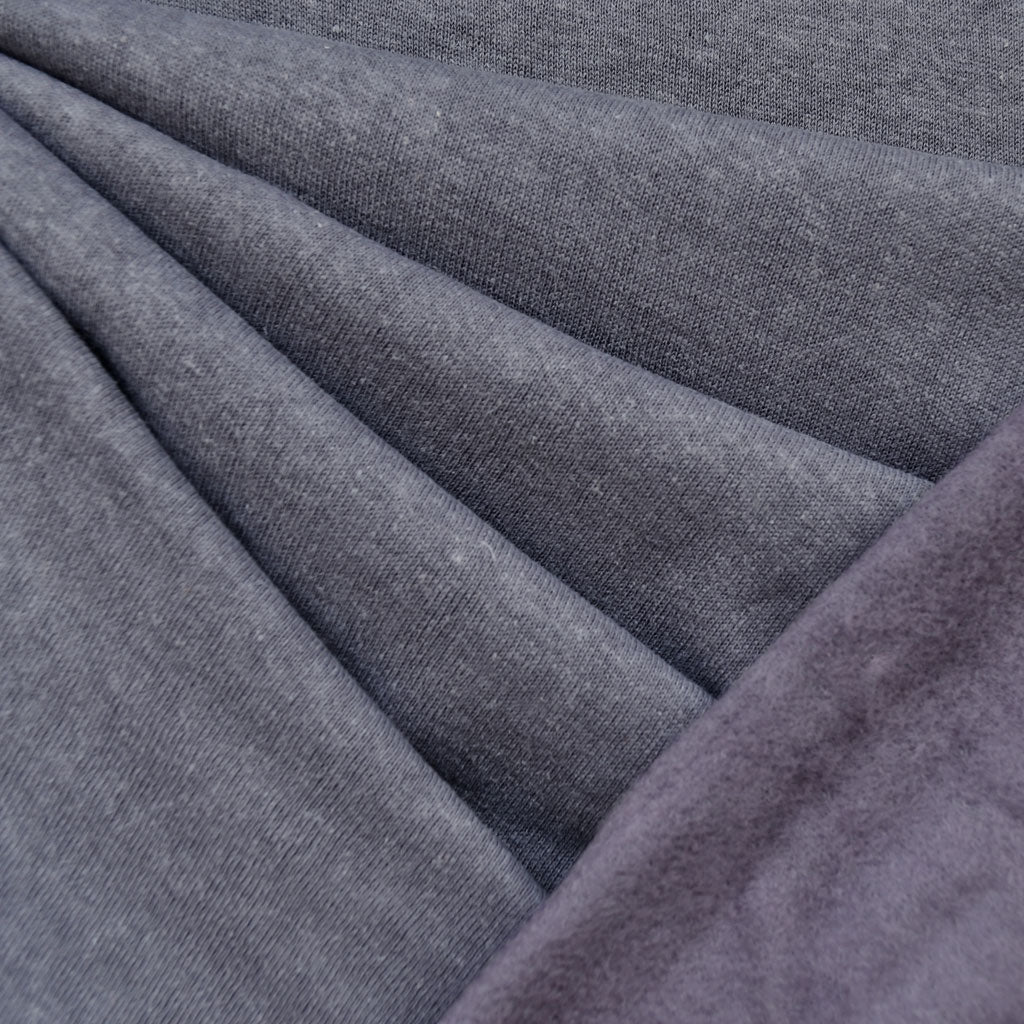 Cozy Eco Sweatshirt Fleece Solid Thistle - Sold Out - Style Maker Fabrics