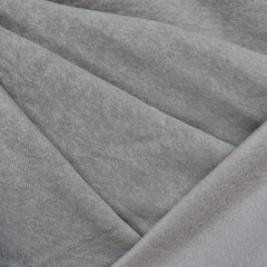 Cozy Eco Sweatshirt Fleece Solid Grey SY - Sold Out - Style Maker Fabrics