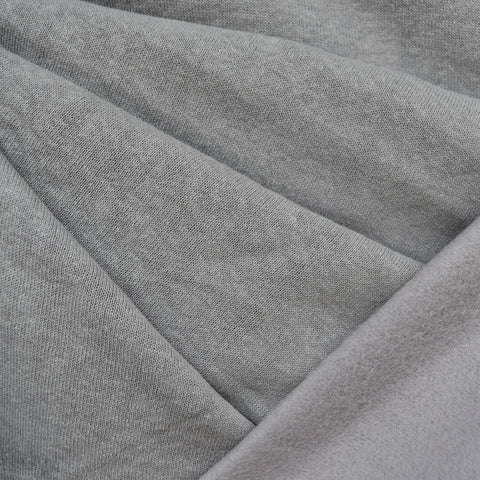 Cozy Eco Sweatshirt Fleece Solid Grey