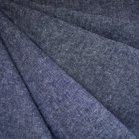 Essex Yarn Dyed Linen Blend Canvas Denim