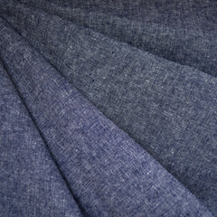 Essex Yarn Dyed Linen Blend Canvas Denim - Sold Out - Style Maker Fabrics