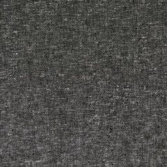 Essex Yarn Dyed Linen Blend Canvas Black - Fabric - Style Maker Fabrics
