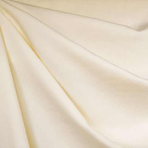 Tencel Twill Shirting Solid Cream