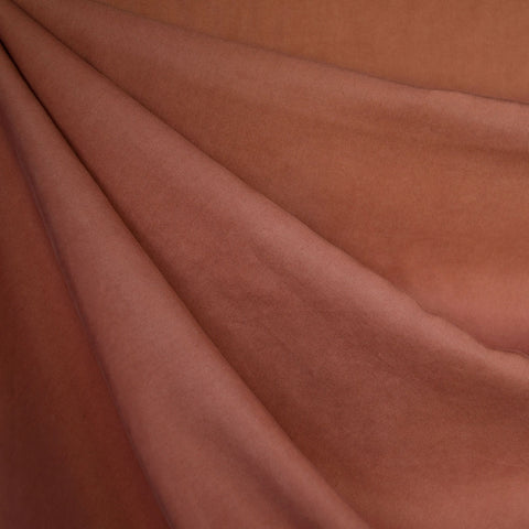 Tencel Twill Shirting Solid Terracotta