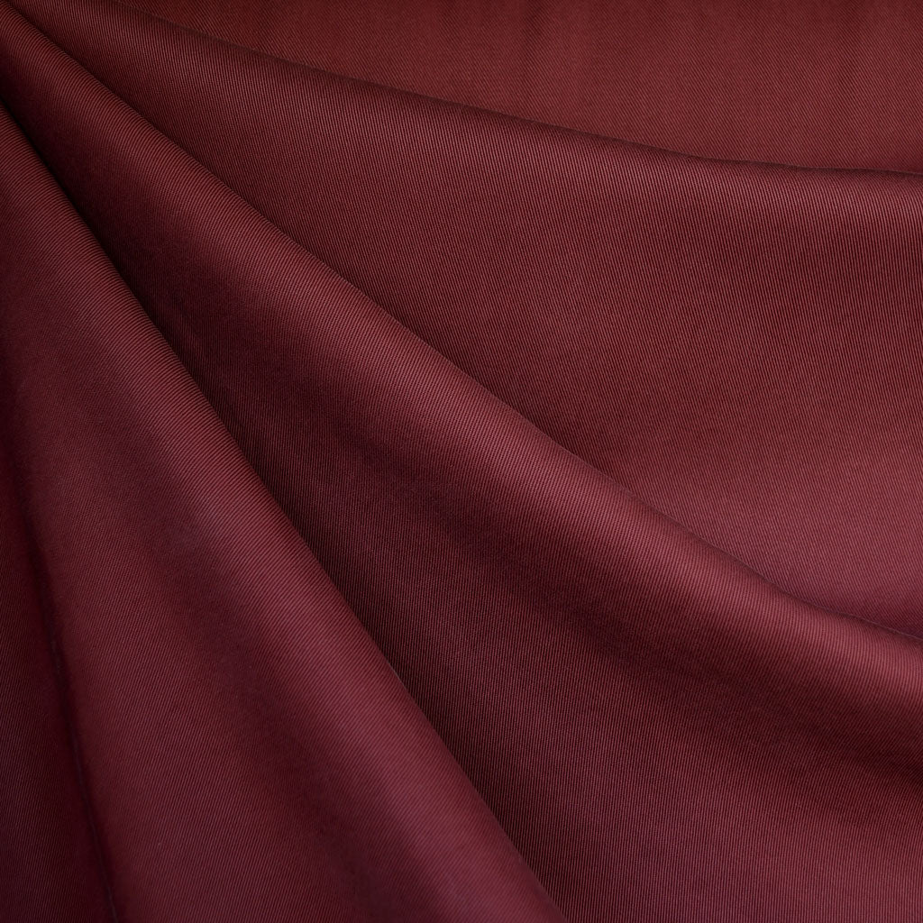 Tencel Twill Solid Bottom Weight Burgundy - Fabric - Style Maker Fabrics