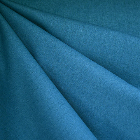 Brussels Washer Linen Blend Solid Ocean