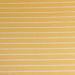 Solid Stripe Jersey Knit Lemon - Fabric - Style Maker Fabrics