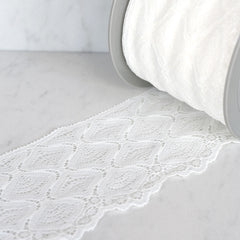 Medallion Chantilly Edging Lace 4 inch - Trim - Style Maker Fabrics