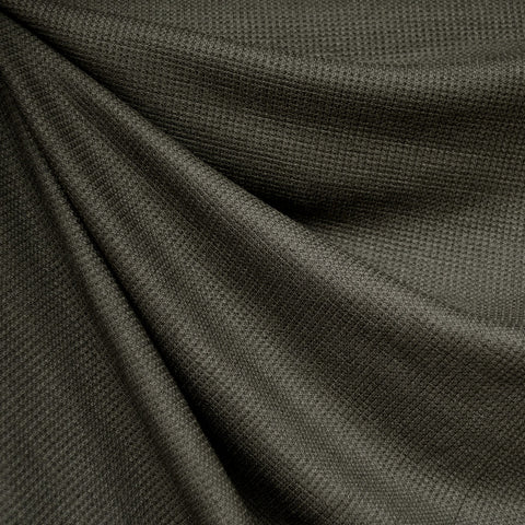 Modal Thermal Knit Solid Olive