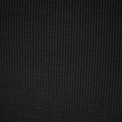 Modal Thermal Knit Solid Black - Fabric - Style Maker Fabrics