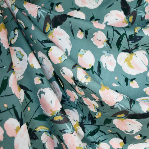 Everlasting Blooms Rayon Sage/Blush SY