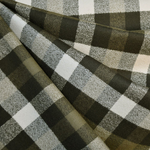 Mammoth Flannel Plaid Check Olive SY