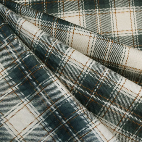 Tahoe Flannel Tartan Plaid Green