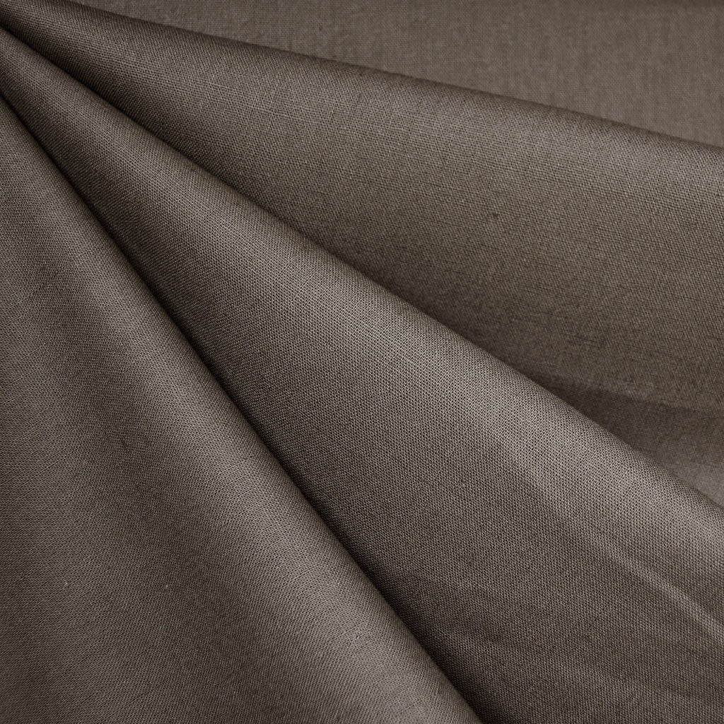 Essex Linen Blend Solid Pepper - Fabric - Style Maker Fabrics