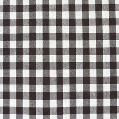 Kitchen Window Mini Check Shirting Espresso - Fabric - Style Maker Fabrics