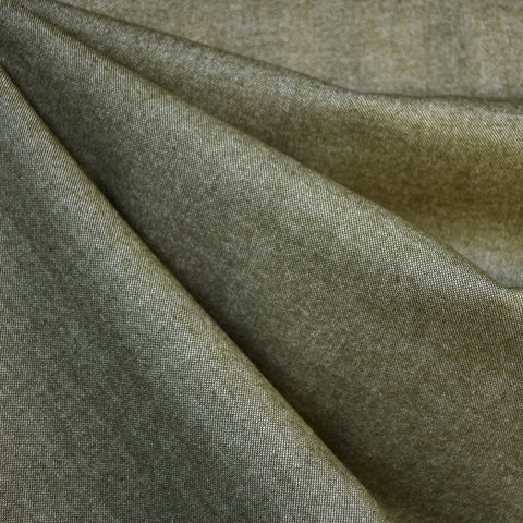 Soft Flannel Chambray Olive