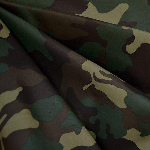 Classic Camouflage Stretch Sateen Olive
