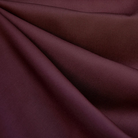 Soft Tencel Twill Solid Wine