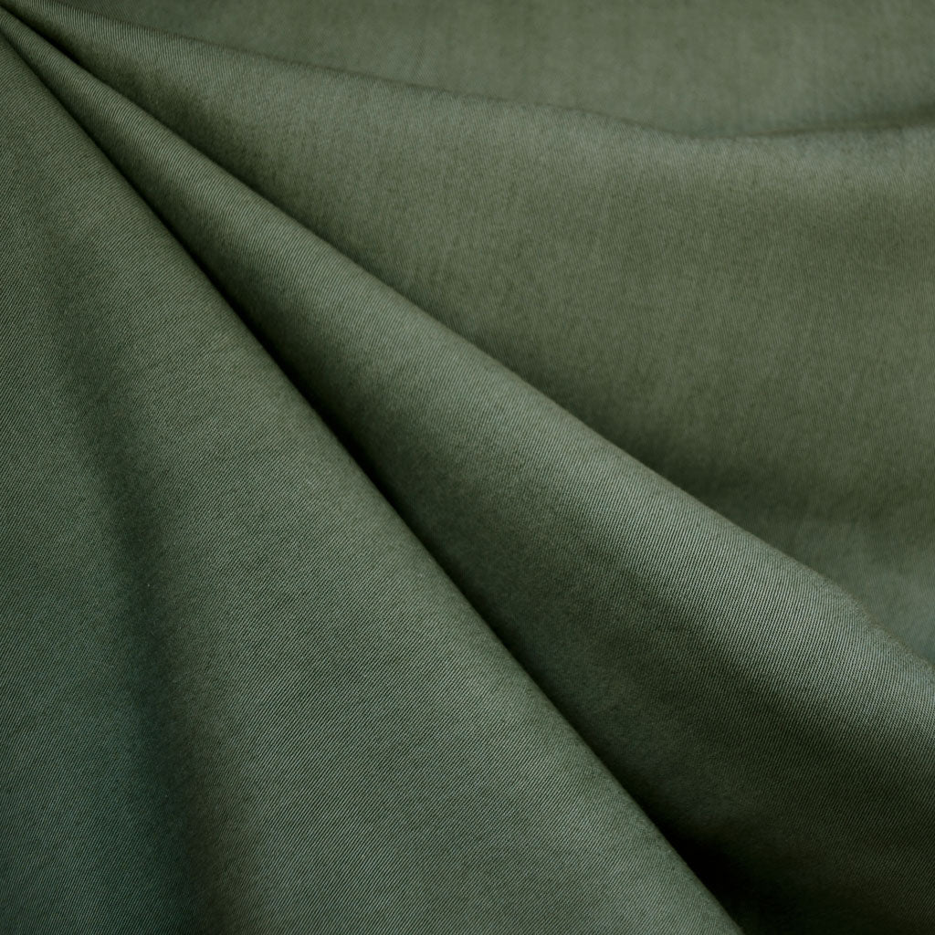 Soft Tencel Twill Solid Hunter - Fabric - Style Maker Fabrics