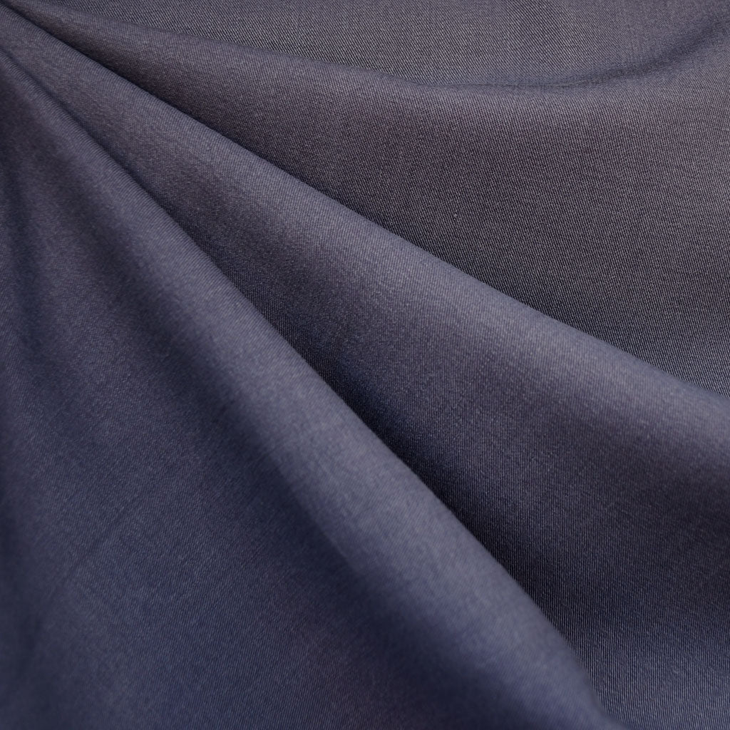 Soft Tencel Twill Solid Pewter - Fabric - Style Maker Fabrics