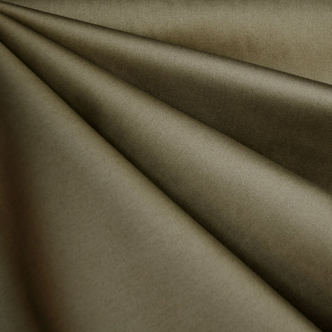 Stretch Cotton Sateen Solid Moss