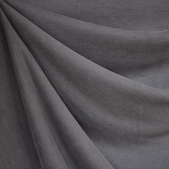 Designer Cupro Modal Jersey Knit Solid Pewter - Fabric - Style Maker Fabrics