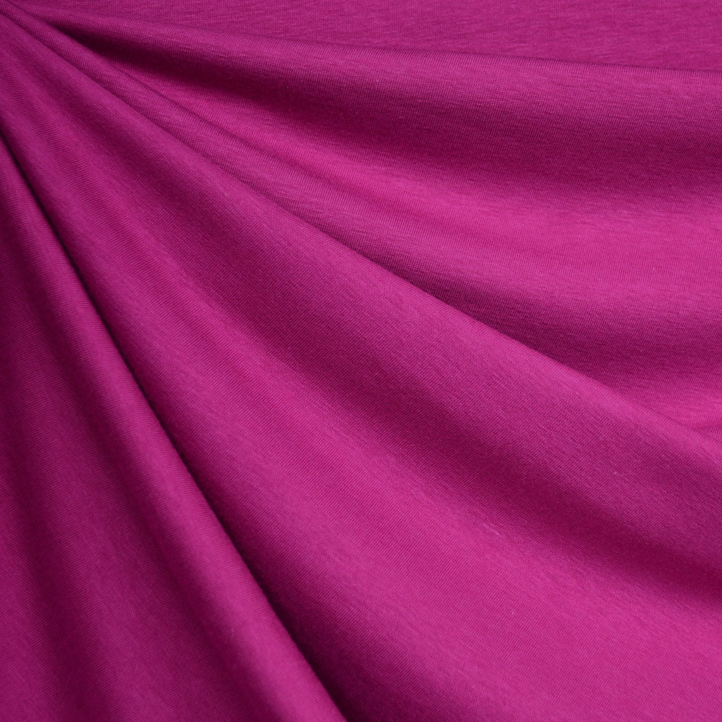 a7369598e85bf0 Designer Modal Jersey Solid Magenta - Fabric - Style Maker Fabrics ...