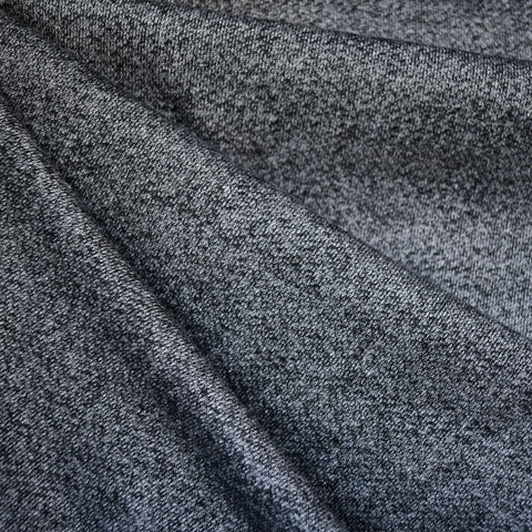 Plush French Terry Heather Charcoal