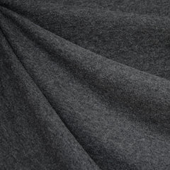 Cozy Brushed Jersey Knit Heather Charcoal - Sold Out - Style Maker Fabrics