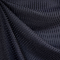 Soft Narrow Rib Sweater Knit Navy - Sold Out - Style Maker Fabrics
