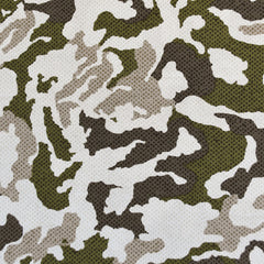Pixel Camouflage Print Rayon Challis Olive - Sold Out - Style Maker Fabrics