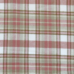 Cozy Cotton Flannel Layered Plaid Rose - Fabric - Style Maker Fabrics