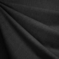 Classic Stretch Bottom Weight Suiting Charcoal - Fabric - Style Maker Fabrics
