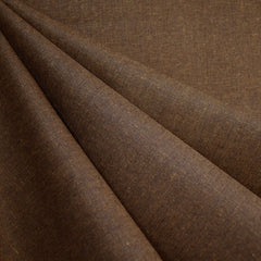 Essex Yarn Dyed Linen Blend Cinnamon - Fabric - Style Maker Fabrics