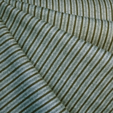 Tamarack Flannel Narrow Stripes Green