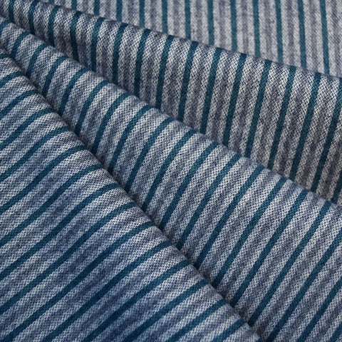 Tamarack Flannel Narrow Stripes Blue SY