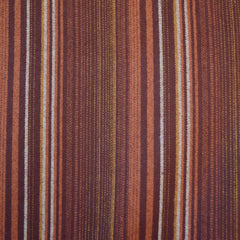 Tamarack Flannel Repeating Stripes Rust - Fabric - Style Maker Fabrics