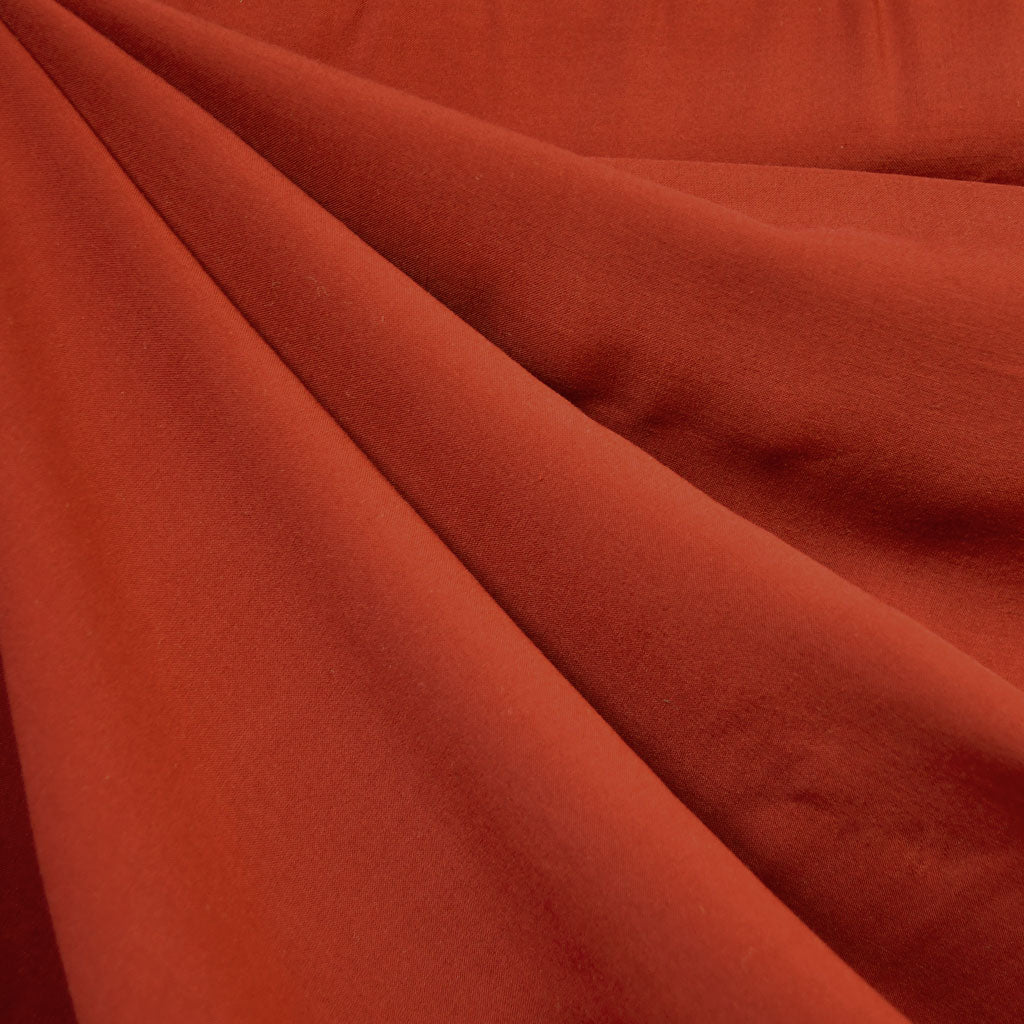 Rayon Batiste Solid Rust - Fabric - Style Maker Fabrics