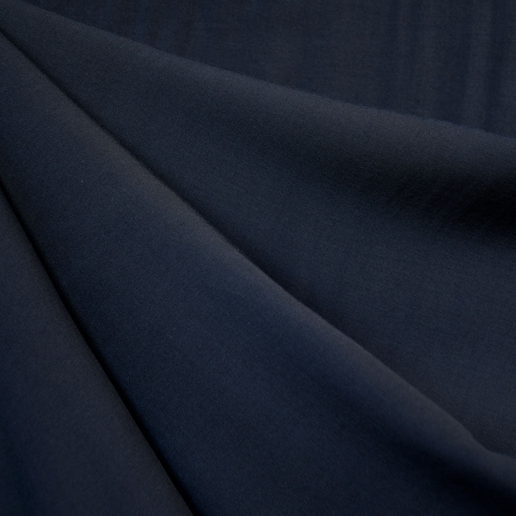 Rayon Batiste Solid Midnight Blue - Fabric - Style Maker Fabrics